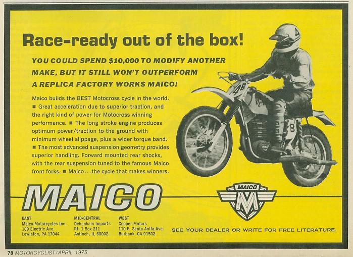 Anthony Blazier / flickr.com - MAICO_USA1975_#2