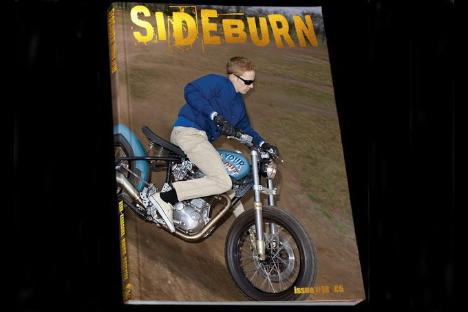 Sideburn Magazine - Cover Issue #10