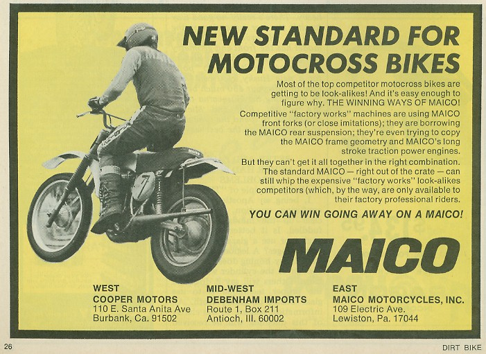 Anthony Blazier / flickr.com - MAICO_USA1974_#2