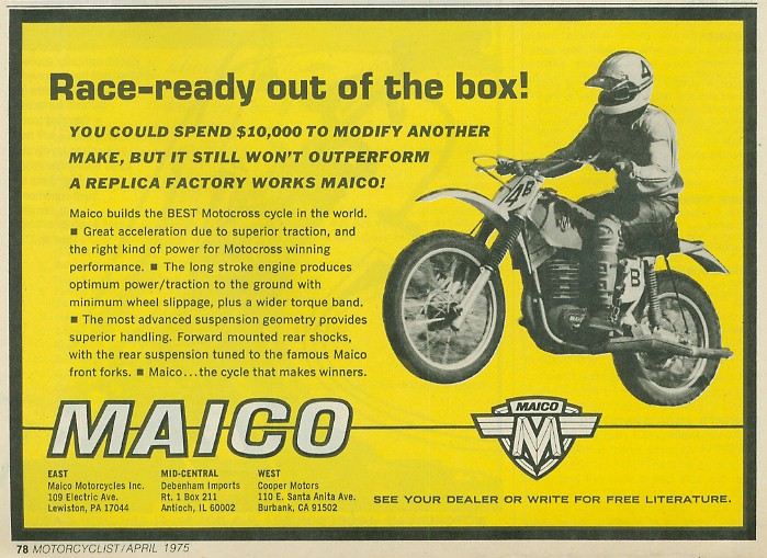 Anthony Blazier / flickr.com - MAICO_USA1975_#2