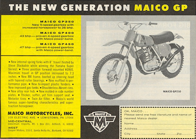 Anthony Blazier / flickr.com - MAICO_USA1975_#3