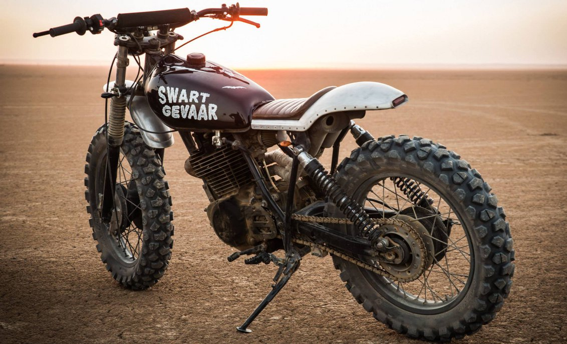 Honda XL500 S Swart Gevaar
