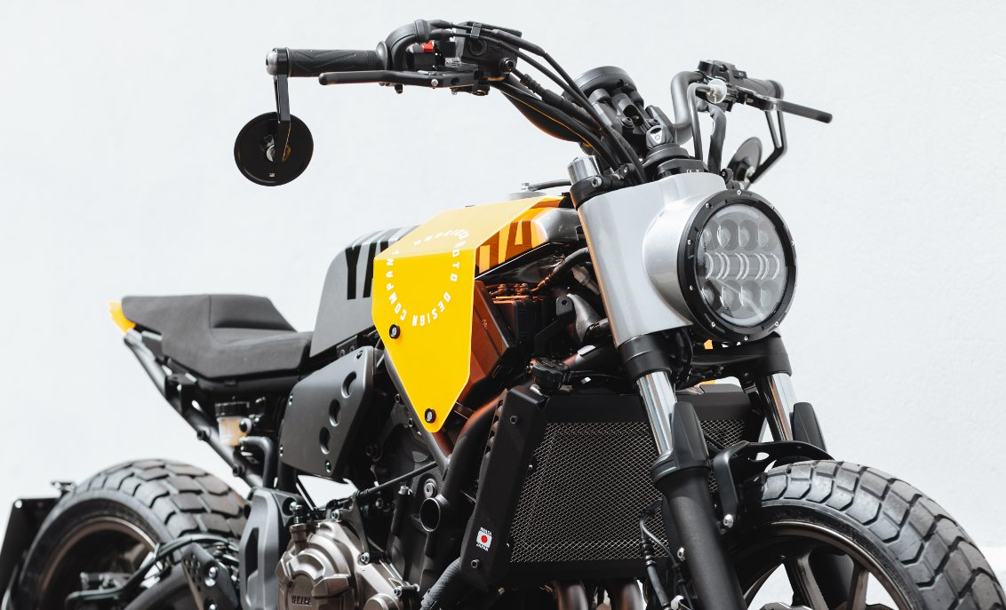 YARD BUILT YAMAHA XSR700 Grasshopper