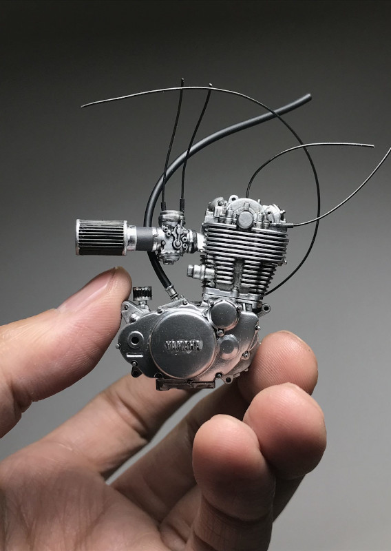 SR 400 Motor von kota scale Models